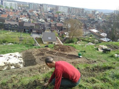 Chantier participatif au potager