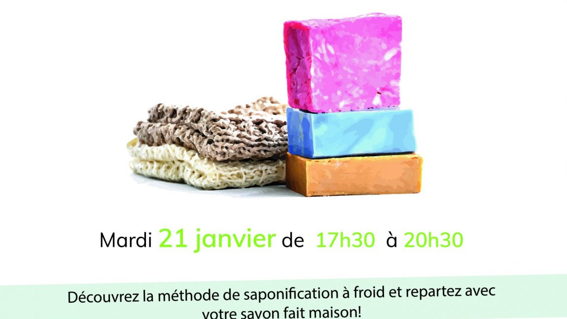 21.01.2020 | COMPLET Atelier savons